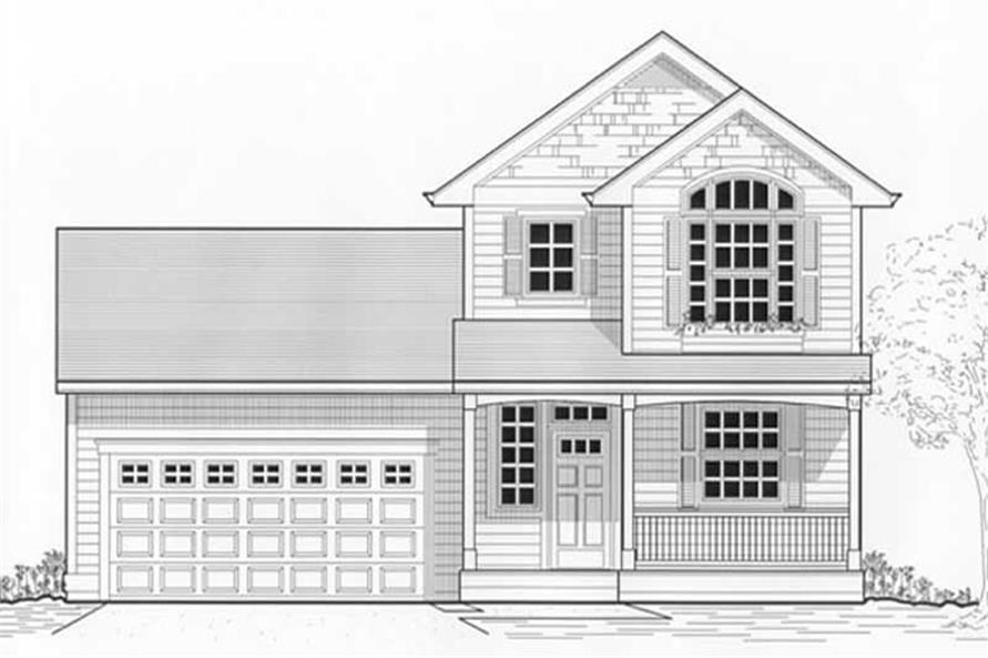 Main image for house plan # 11964