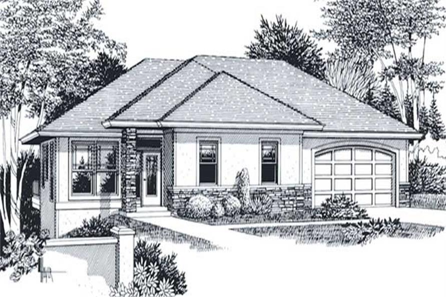 Main image for house plan # 11963