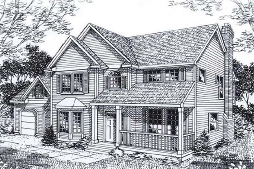 Main image for house plan # 11945