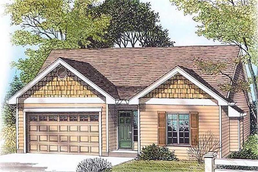 Main image for house plan # 11976