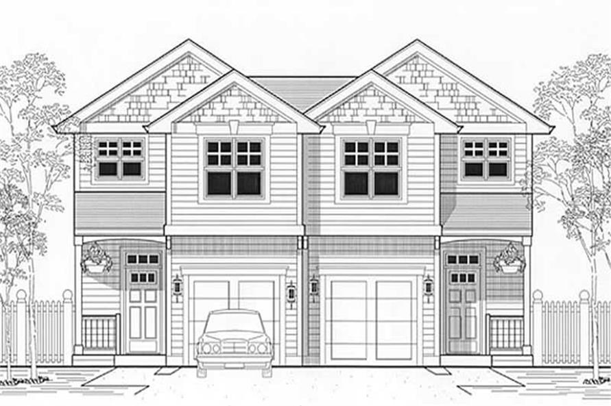 Main image for house plan # 11999