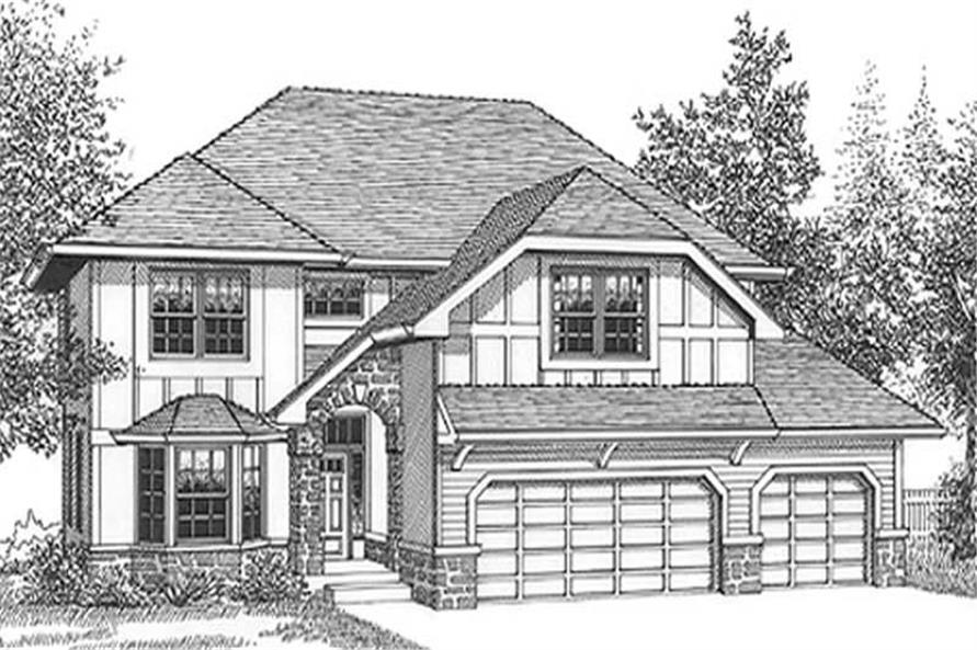 Main image for house plan # 11992