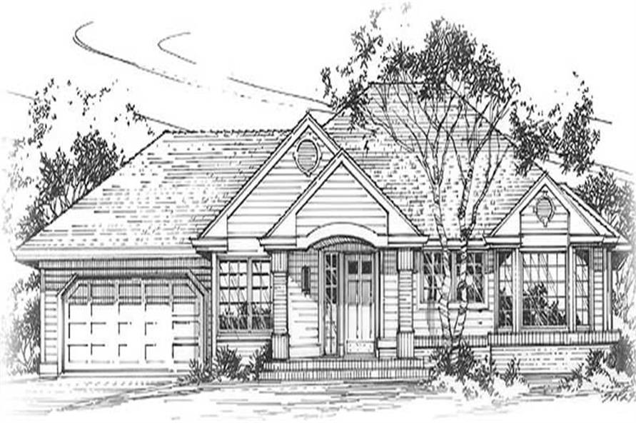 Main image for house plan # 11987