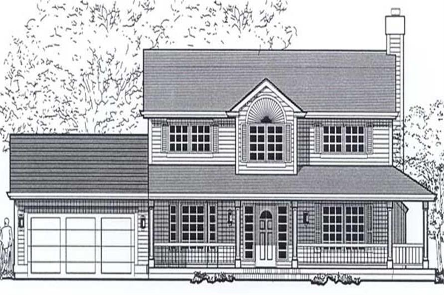 Main image for house plan # 11985