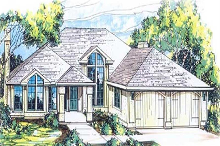 Main image for house plan # 11983