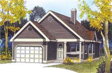 Main image for house plan # 11978