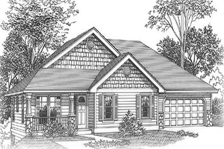 Main image for house plan # 11961