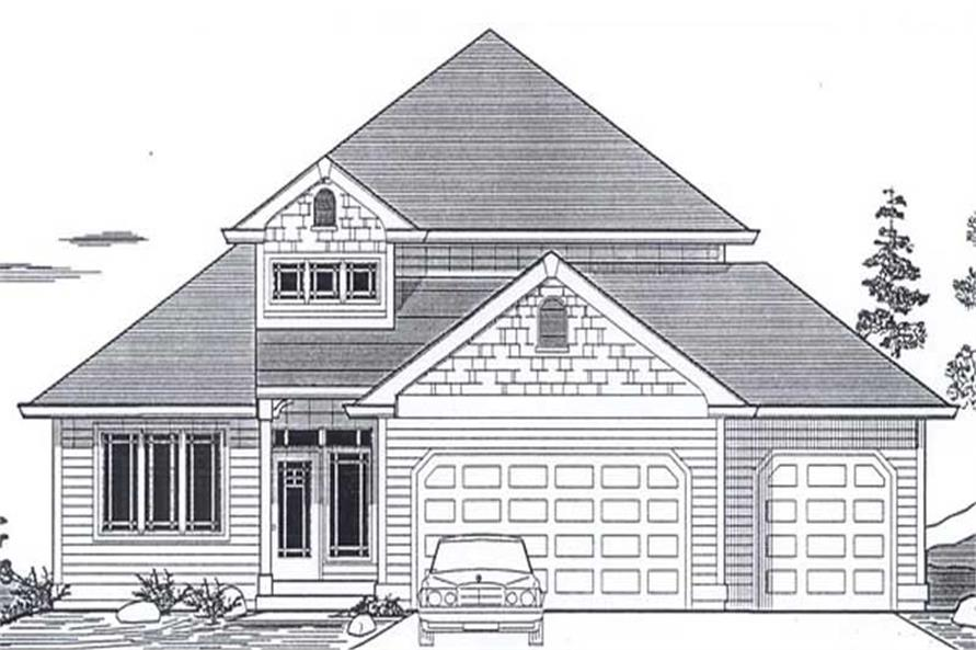 Main image for house plan # 12029