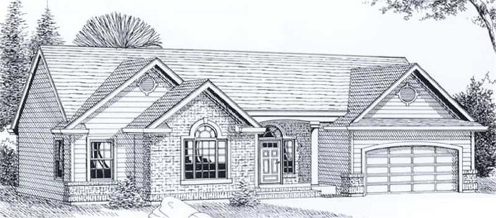 Main image for house plan # 11930