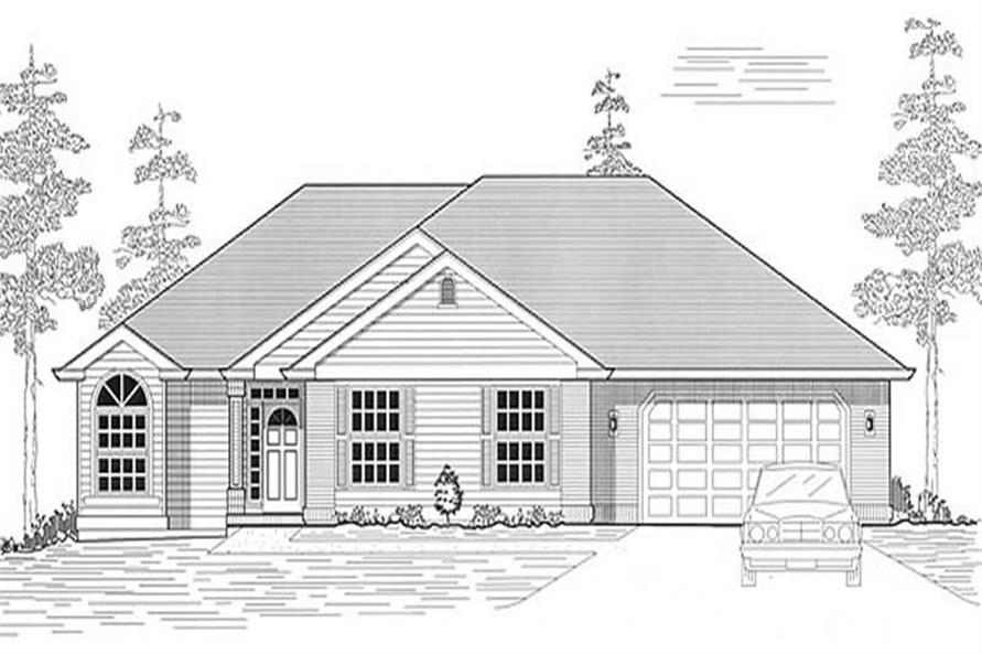 Main image for house plan # 11962