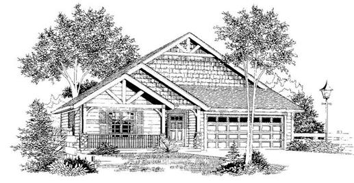 Main image for house plan # 11972