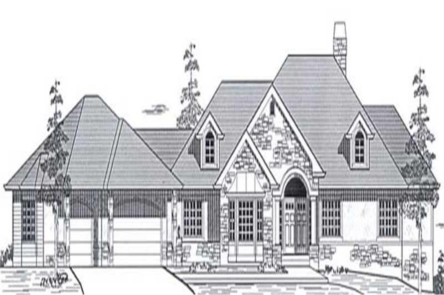 Main image for house plan # 12050