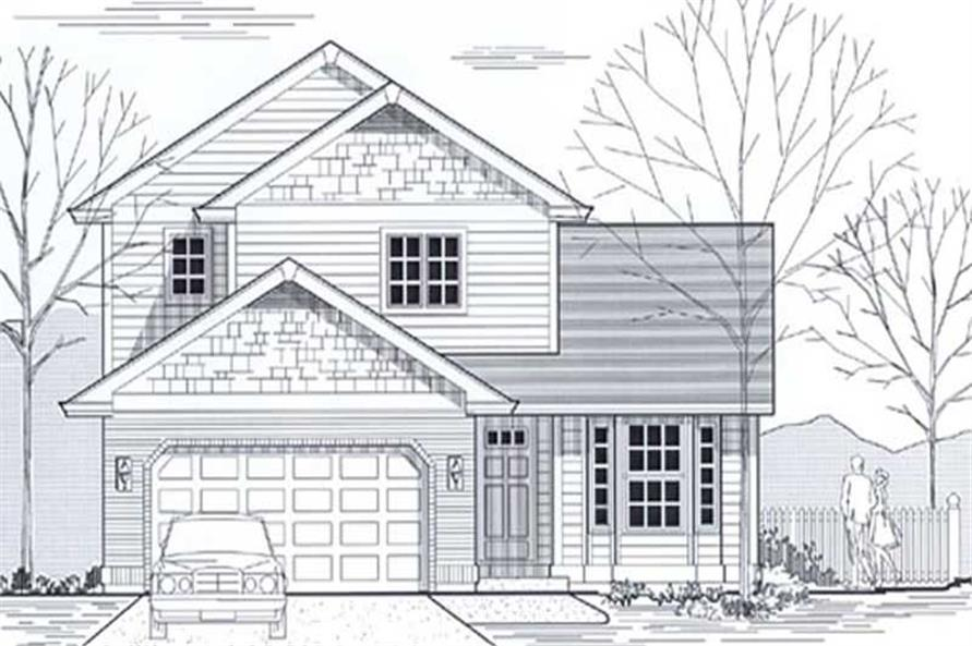 Main image for house plan # 12032