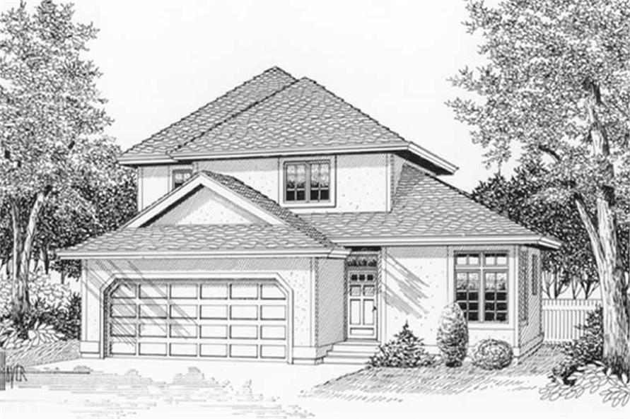 Main image for house plan # 12031
