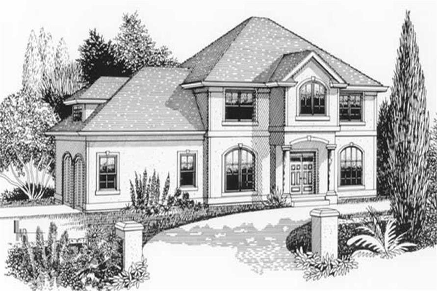Main image for house plan # 11939