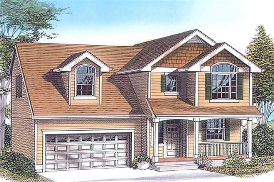 Main image for house plan # 11965