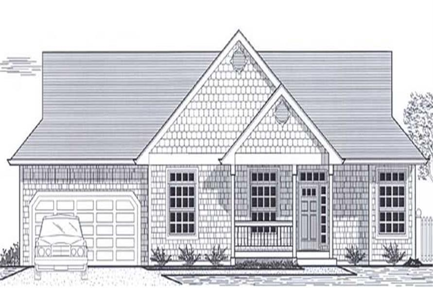 Main image for house plan # 11958