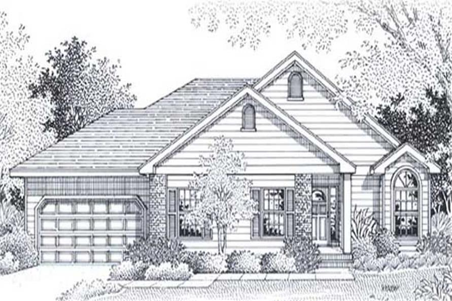 Main image for house plan # 11956