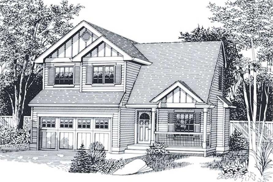 Main image for house plan # 11953