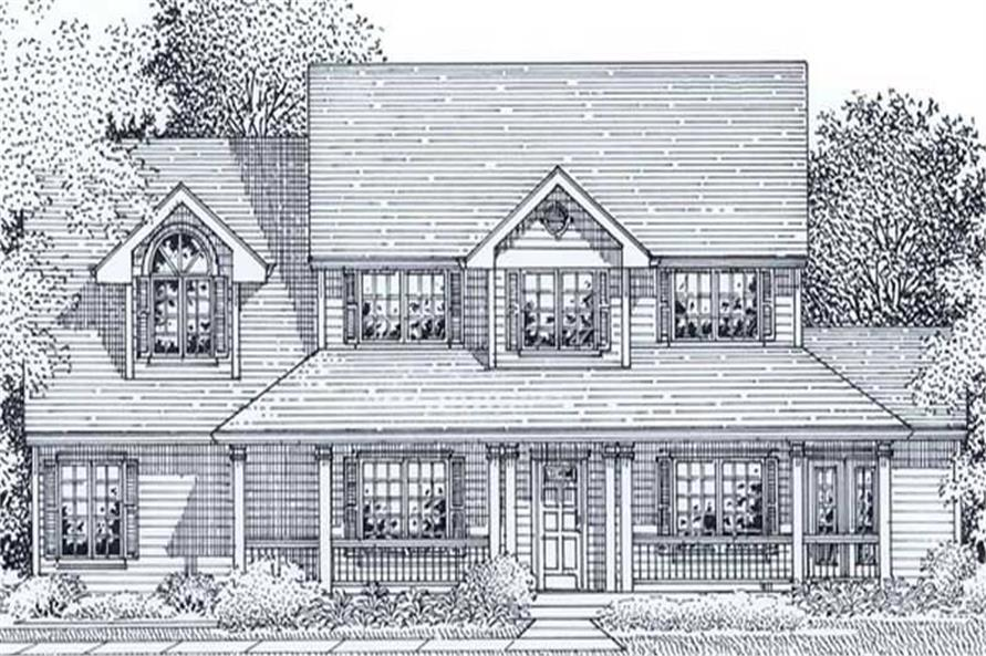 Main image for house plan # 11951