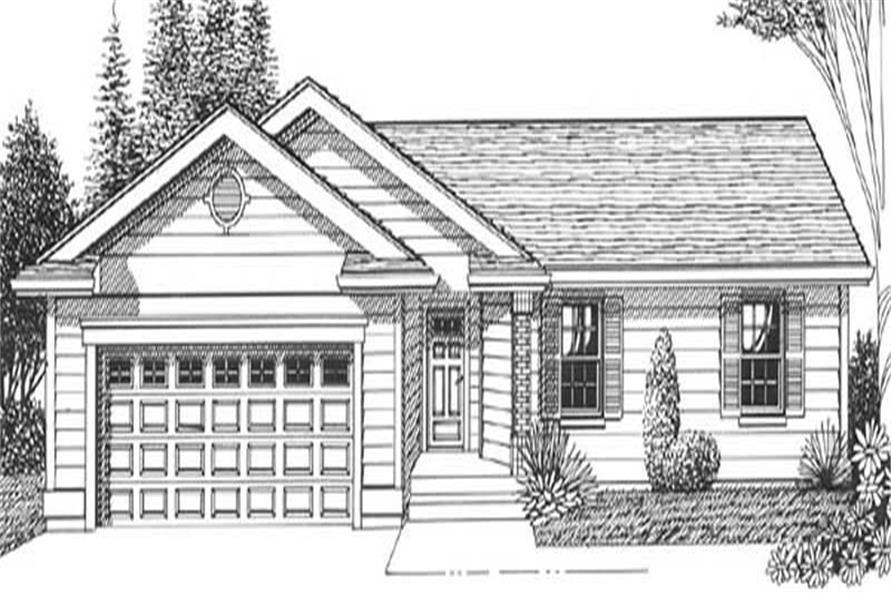 Main image for house plan # 11944
