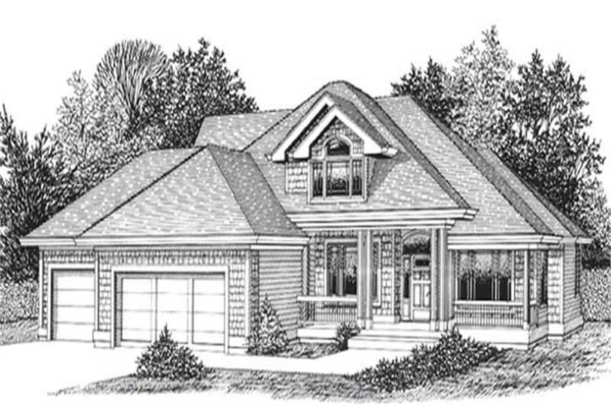 Main image for house plan # 11942