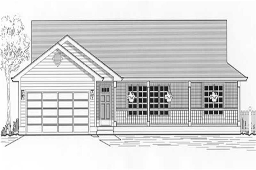Main image for house plan # 11968