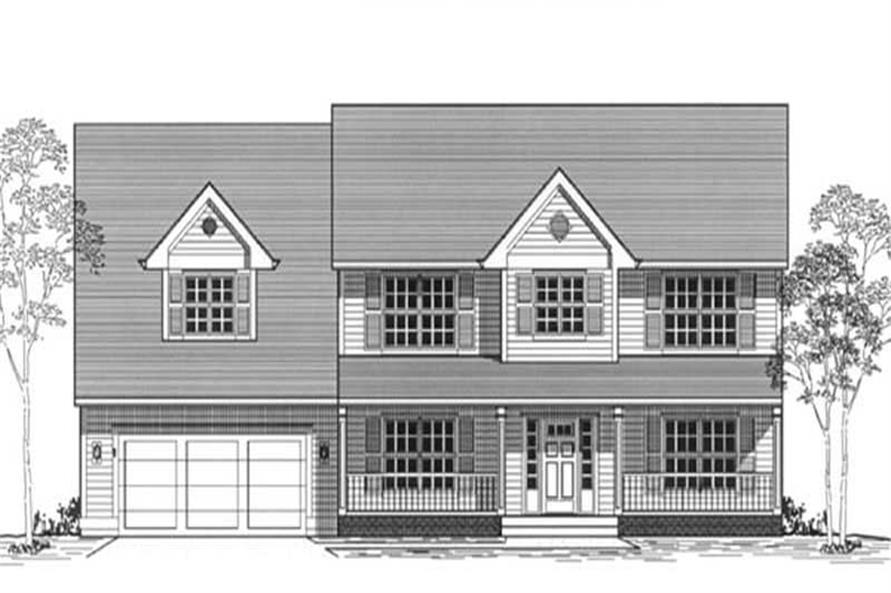 Main image for house plan # 11940