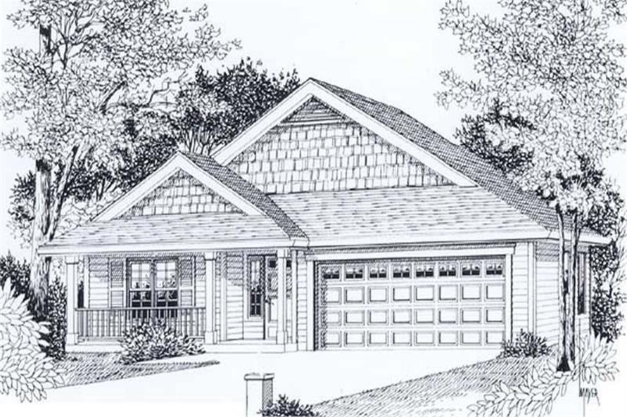 Main image for house plan # 11971