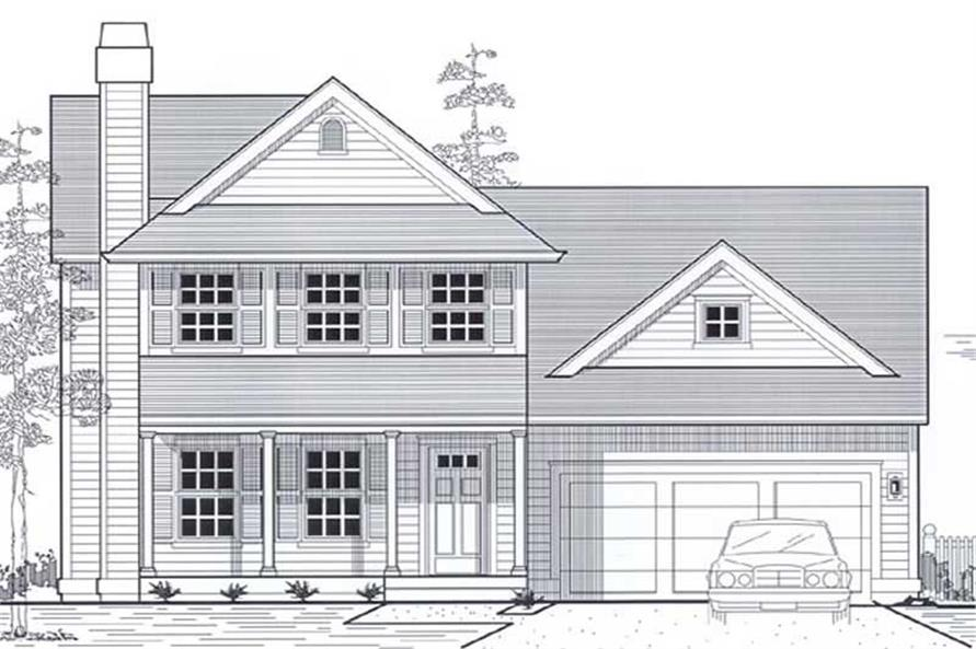 Main image for house plan # 11928