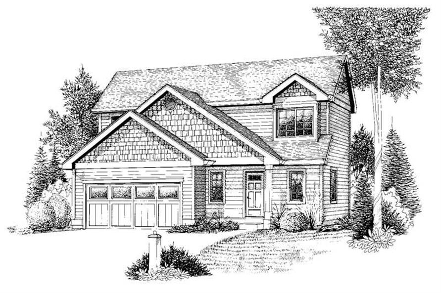 Main image for house plan # 11921