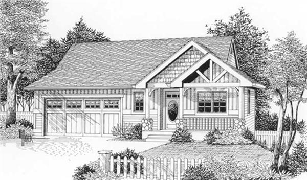 Main image for house plan # 11907