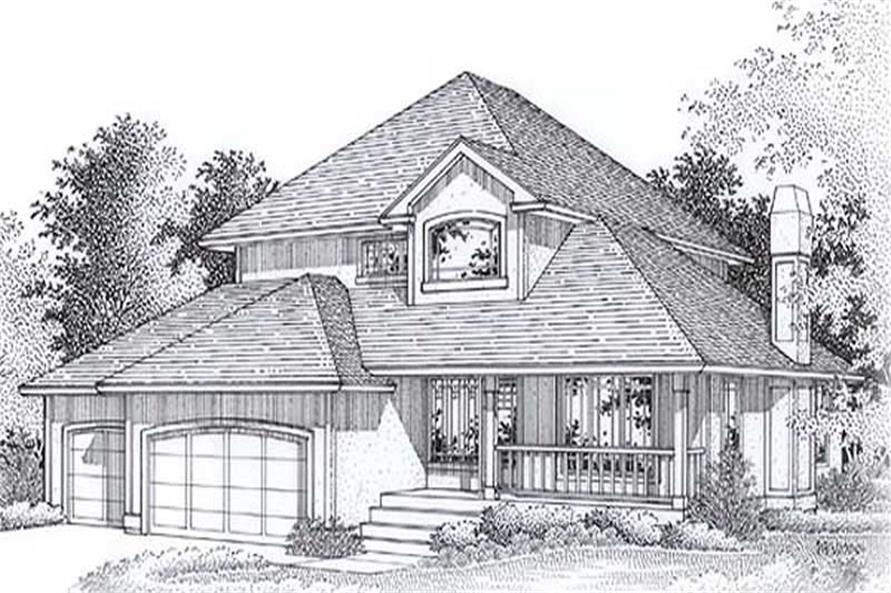 Main image for house plan # 11893