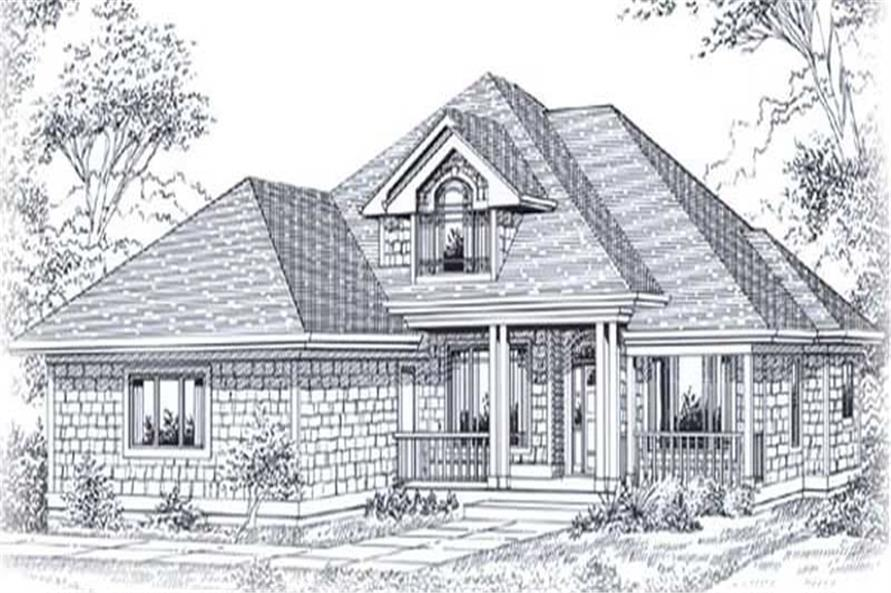 Main image for house plan # 11941