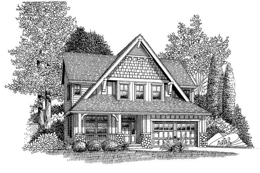 Main image for house plan # 12046