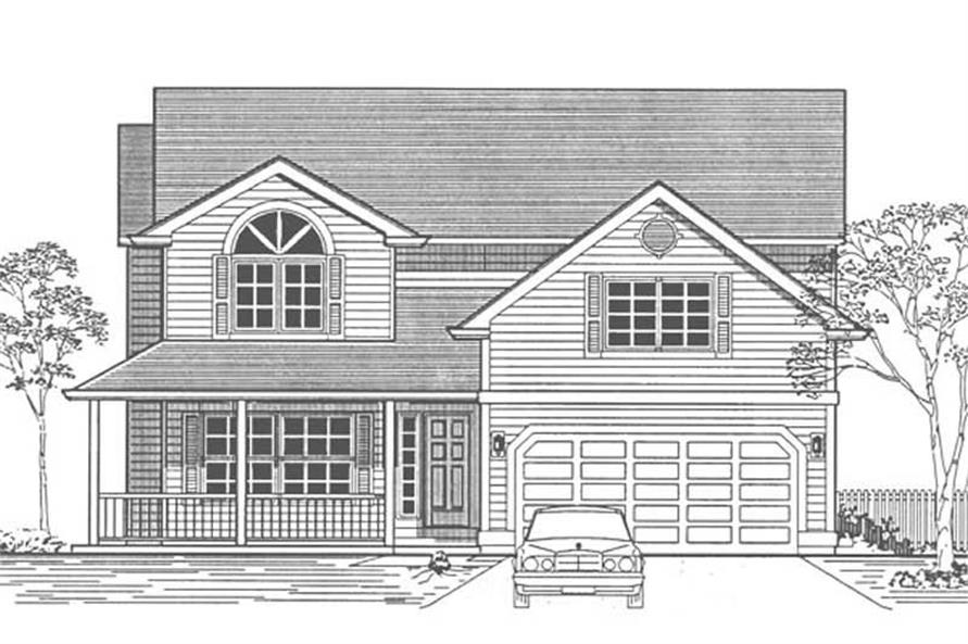 Main image for house plan # 12068