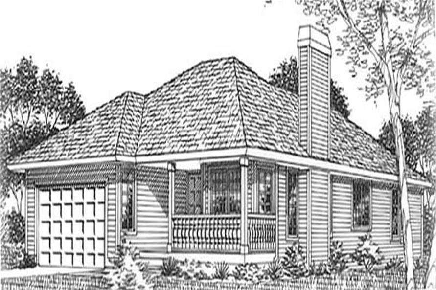 Main image for house plan # 12064
