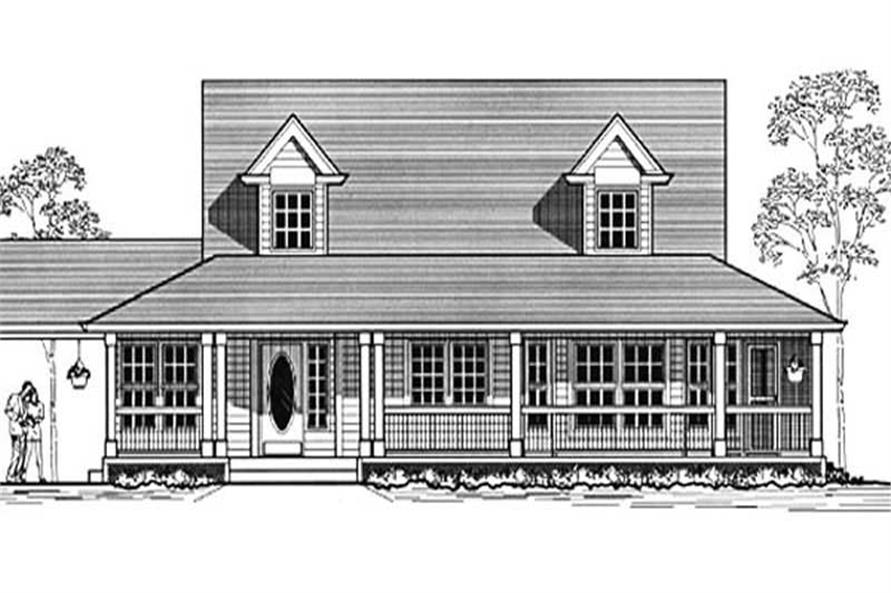 Main image for house plan # 12063