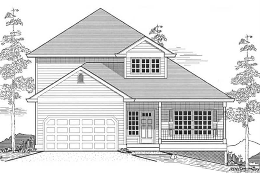Main image for house plan # 12057