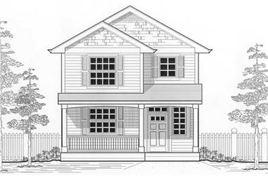 Main image for house plan # 11966