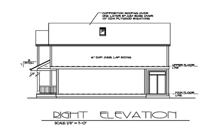 171-1155 house plan right