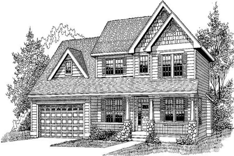Main image for house plan # 12048