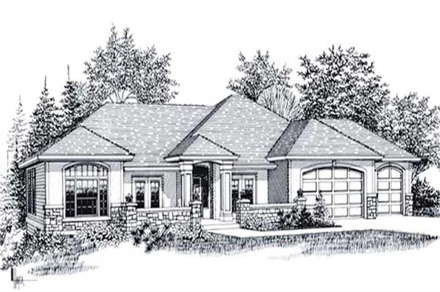 Main image for house plan # 11889