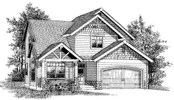 Main image for house plan # 12043
