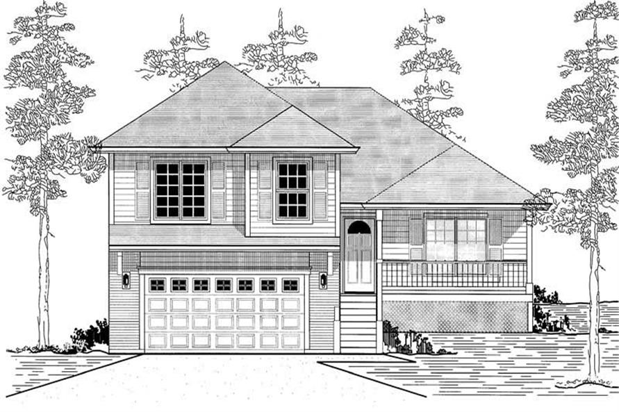 Main image for house plan # 12017