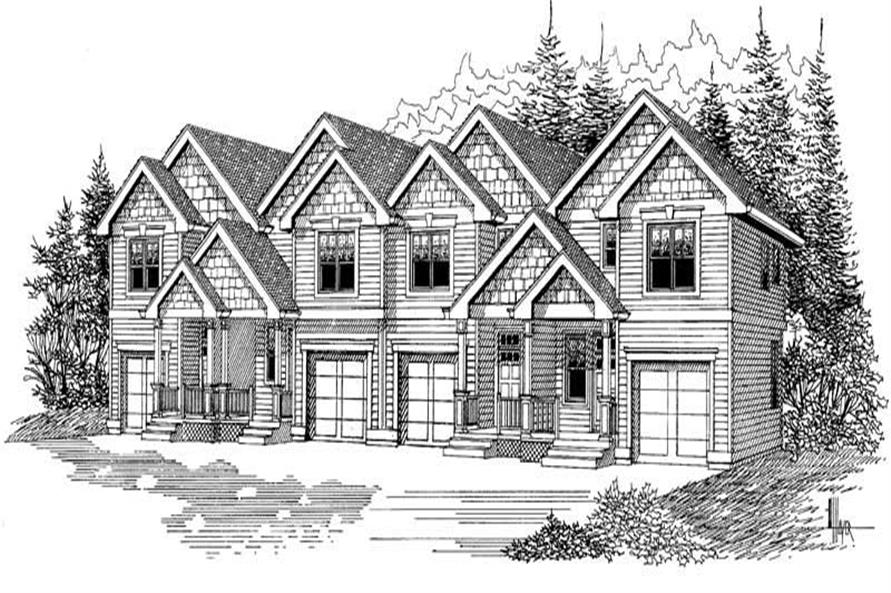 Main image for house plan # 12001