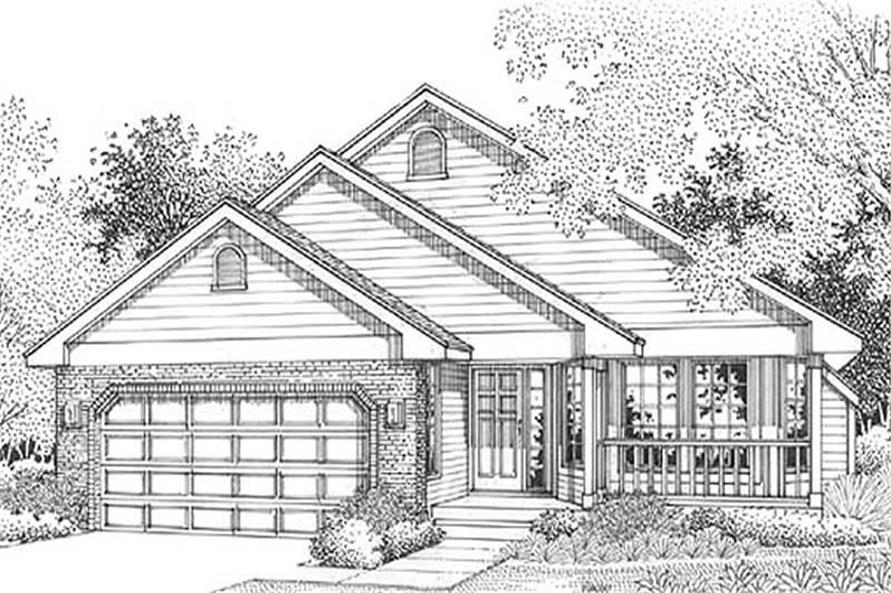 Main image for house plan # 11989