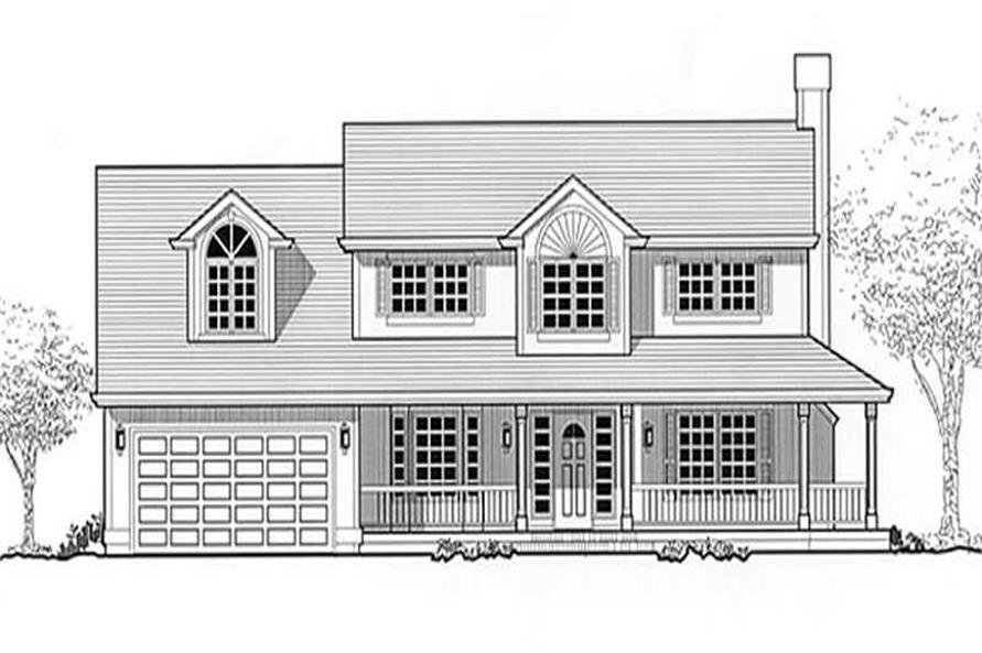 Main image for house plan # 11986