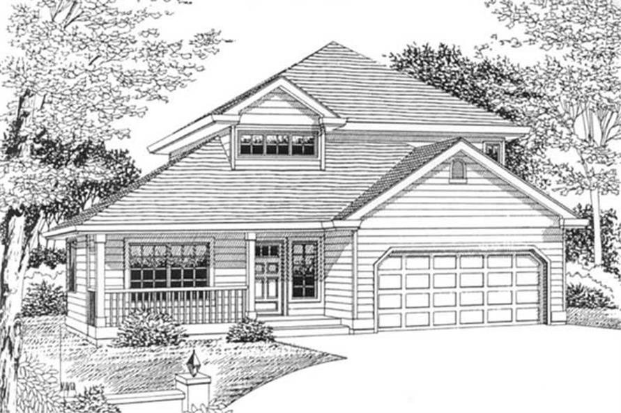Main image for house plan # 12056