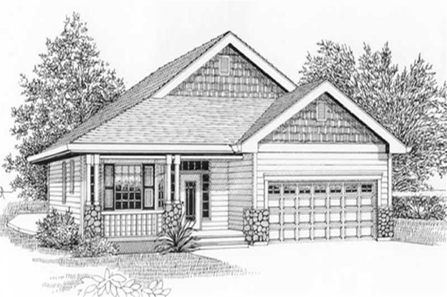 Main image for house plan # 11850